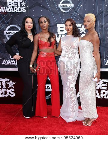 vLOS ANGELES - JUN 28:  Eva Marcille at the 2015 BET Awards - Arrivals at the Microsoft Theater on June 28, 2015 in Los Angeles, CA