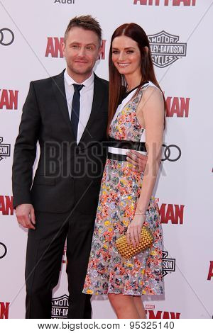 vLOS ANGELES - JUN 29:  Chris Hardwick, Lydia Hearst at the