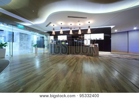 SOCHI, RUSSIA - JUL 27, 2014: Health spa center in the Hotel Radisson Blu Paradise Resort and Spa