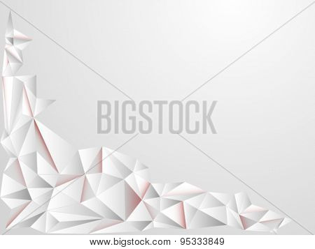 Abstract gray card