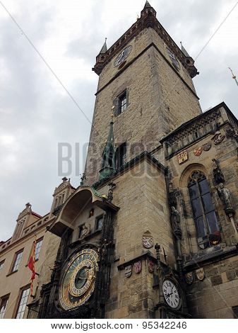 Prague Orloj Astronomical Clock
