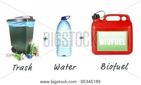 Trash plus water is biofuel