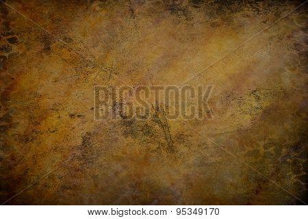 Dark Watercolor Grunge Background
