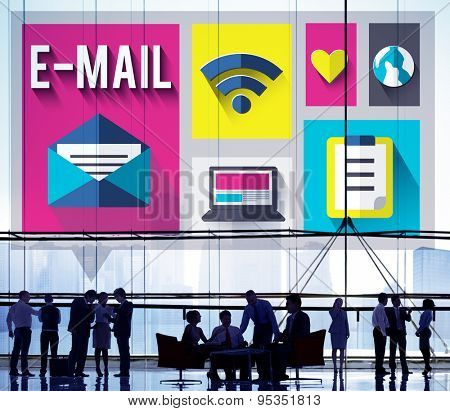 Email Message Send Connection Communication Concept