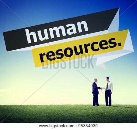 Human Resources Employment Job Recruitment Concept