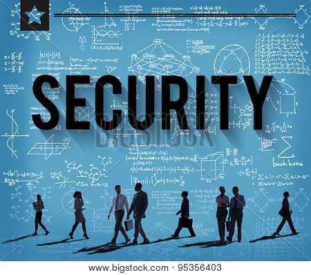 Security System Networking Privacy Protection Concept