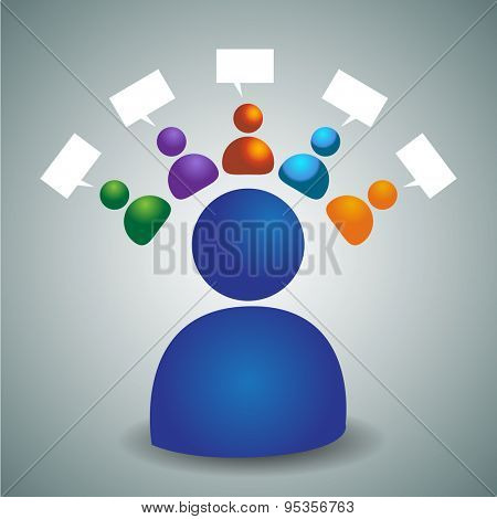 An image of an advisory team icon.