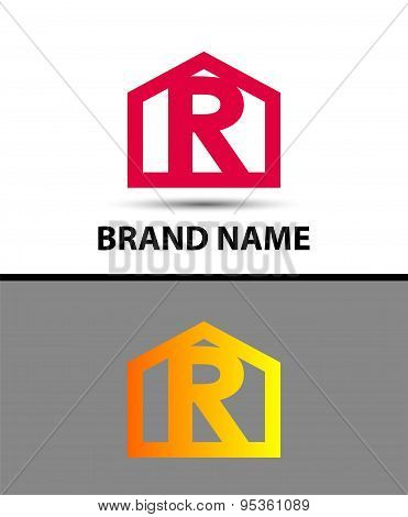 Vector - Letter R logo icon