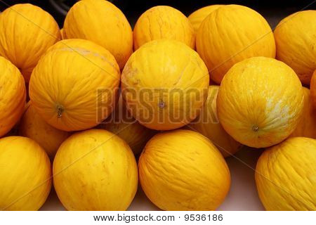 Canary Yellow Melon Indorus Melo Market Stacked