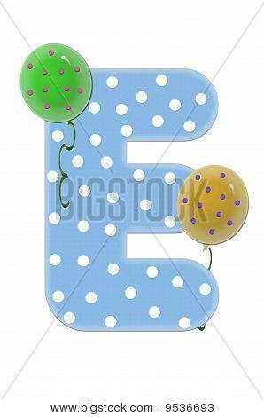 Alpha Balloon Bash E