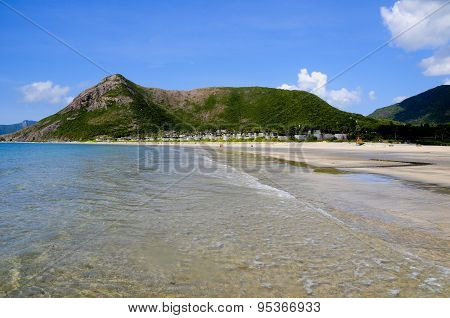 Beautiful beach in Condao island, Vietnam
