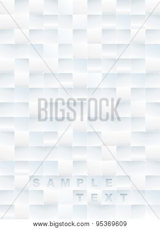 White tiles textured abstract background.