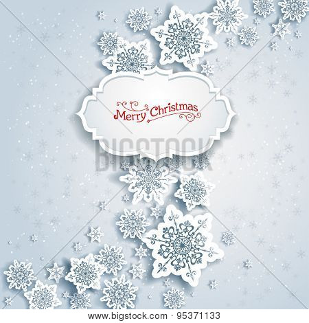 Background with Christmas decorations for banners, advertising, leaflet, cards, invitation and so on.