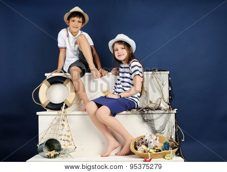 marine style portrait