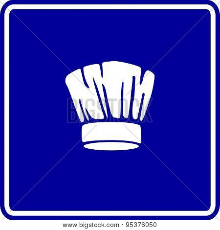 chef hat sign