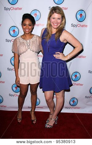 LOS ANGELES - JUN 30:  Tanisha Long, Shalyah Evans at the SpyChatter Launch Event at the The Argyle on June 30, 2015 in Los Angeles, CA