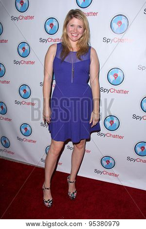 LOS ANGELES - JUN 30:  Shalyah Evans at the SpyChatter Launch Event at the The Argyle on June 30, 2015 in Los Angeles, CA