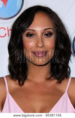 LOS ANGELES - JUN 30:  Cheryl Burke at the SpyChatter Launch Event at the The Argyle on June 30, 2015 in Los Angeles, CA