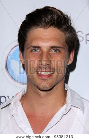 LOS ANGELES - JUN 30:  Liam Johnson at the SpyChatter Launch Event at the The Argyle on June 30, 2015 in Los Angeles, CA