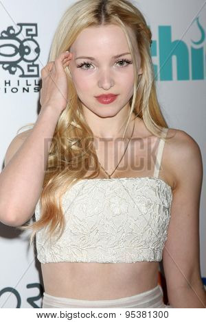 LOS ANGELES - JUN 30:  Dove Cameron at the 6th Annual Thirst Gala at the Beverly Hilton Hotel on June 30, 2015 in Beverly Hills, CA