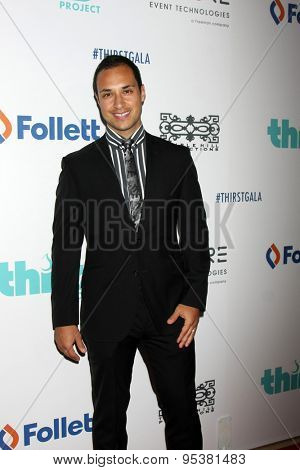 LOS ANGELES - JUN 30:  Jaylen Moore at the 6th Annual Thirst Gala at the Beverly Hilton Hotel on June 30, 2015 in Beverly Hills, CA