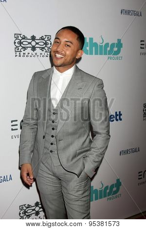 LOS ANGELES - JUN 30:  Tahj Mowry at the 6th Annual Thirst Gala at the Beverly Hilton Hotel on June 30, 2015 in Beverly Hills, CA