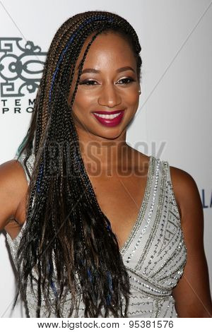 LOS ANGELES - JUN 30:  Monique Coleman at the 6th Annual Thirst Gala at the Beverly Hilton Hotel on June 30, 2015 in Beverly Hills, CA