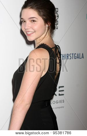 LOS ANGELES - JUN 30:  Madison McLauglin at the 6th Annual Thirst Gala at the Beverly Hilton Hotel on June 30, 2015 in Beverly Hills, CA