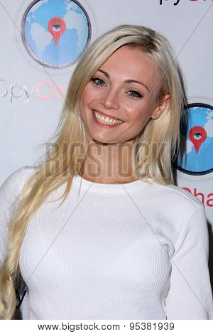 LOS ANGELES - JUN 30:  Katja Glieson at the SpyChatter Launch Event at the The Argyle on June 30, 2015 in Los Angeles, CA