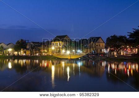 Hoian ancient town at night