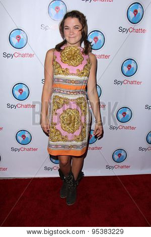 vLOS ANGELES - JUN 30:  Lenay Dunn at the SpyChatter Launch Event at the The Argyle on June 30, 2015 in Los Angeles, CA