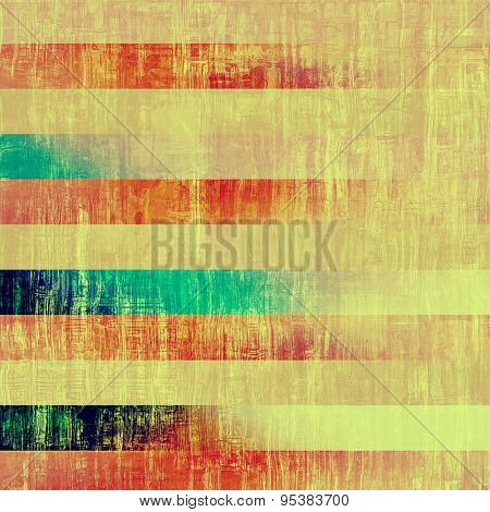 Vintage textured background. With different color patterns: yellow (beige); red (orange); blue; pink