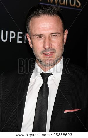 LOS ANGELES - FEB 27:  David Arquette at the Noble Awards at the Beverly Hilton Hotel on February 27, 2015 in Beverly Hills, CA