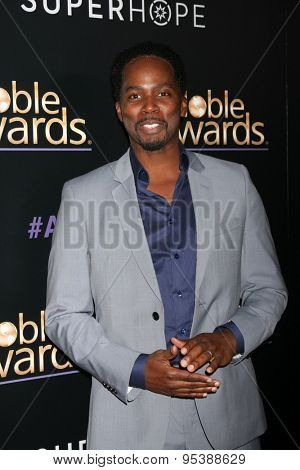 LOS ANGELES - FEB 27:  Harold Perrineau at the Noble Awards at the Beverly Hilton Hotel on February 27, 2015 in Beverly Hills, CA