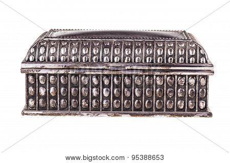 Vintage Silver Casket