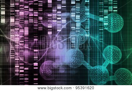 Scientific Research and Medical Science Industry Art