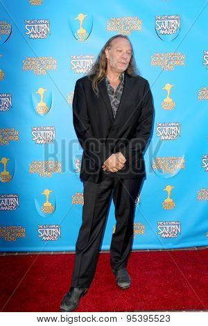 BURBANK - JUNE 25: Greg Nicotero arrives at the 41st Annual Saturn Awards on Thursday, June 25, 2015 at the Castaway Restaurant in Burbank, CA.