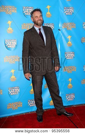 BURBANK - JUNE 25: Lance Guest arrives at the 41st Annual Saturn Awards on Thursday, June 25, 2015 at the Castaway Restaurant in Burbank, CA.