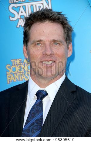 BURBANK - JUNE 25: Ben Browder arrives at the 41st Annual Saturn Awards on Thursday, June 25, 2015 at the Castaway Restaurant in Burbank, CA.