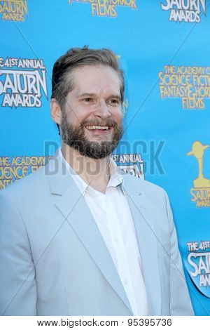 BURBANK - JUNE 25: Bryan Fuller arrives at the 41st Annual Saturn Awards on Thursday, June 25, 2015 at the Castaway Restaurant in Burbank, CA.