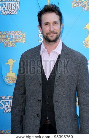 BURBANK - JUNE 25: Noah Wyle arrives at the 41st Annual Saturn Awards on Thursday, June 25, 2015 at the Castaway Restaurant in Burbank, CA.