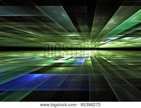 3d perspective grid background texture
