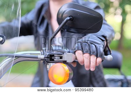 motor-cyclist