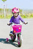 stock photo of leggins  - little biker - JPG