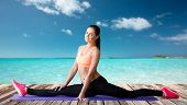picture of do splits  - fitness - JPG