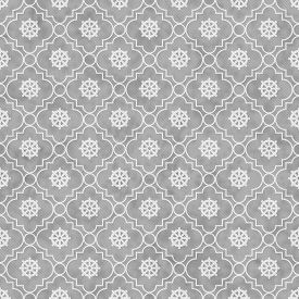 foto of dharma  - Gray and White Wheel of Dharma Symbol Tile Pattern Repeat Background that is seamless and repeats - JPG