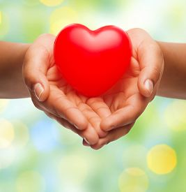 picture of hand heart  - health - JPG