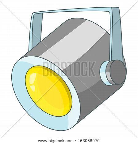 Floodlight icon. Cartoon illustration of floodlight vector icon for web design
