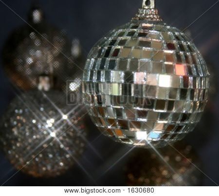 Mirrorball And Glitterballs  Christmas  New Years
