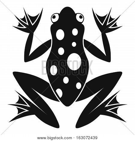 Frog icon. Simple illustration of frog vector icon for web